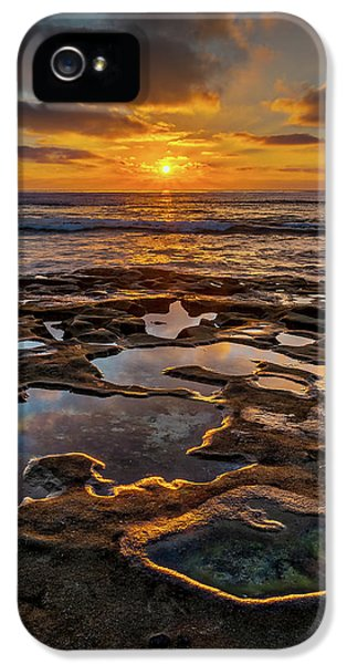 La Jolla Tidepools IPhone 5 Case by Peter Tellone