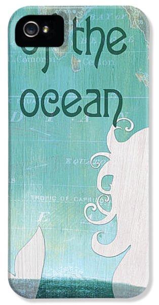 Fairy iPhone 5 Case - La Mer Mermaid 1 by Debbie DeWitt