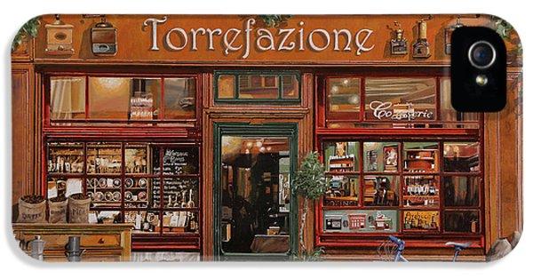 La Torrefazione IPhone 5 Case by Guido Borelli