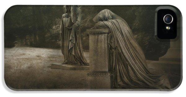 Ladies Of Eternal Sorrow IPhone 5 Case by Tom Mc Nemar