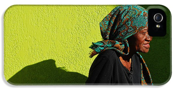 Lady In Green IPhone 5 Case by Skip Hunt