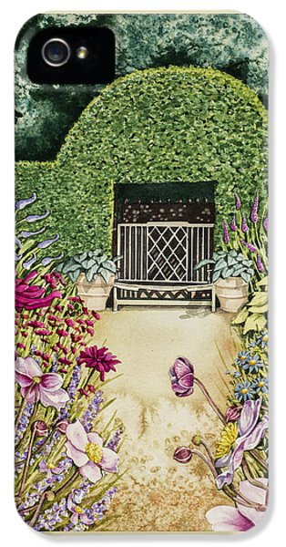 Lady Newton's Borders IPhone 5 Case by Gabrielle Taylor