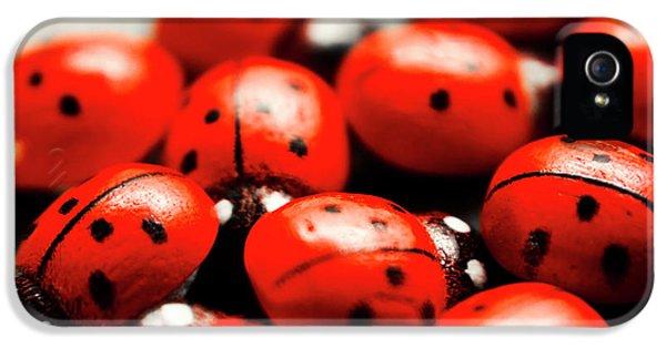Ladybug iPhone 5 Case - Ladybug Luck by Jorgo Photography - Wall Art Gallery