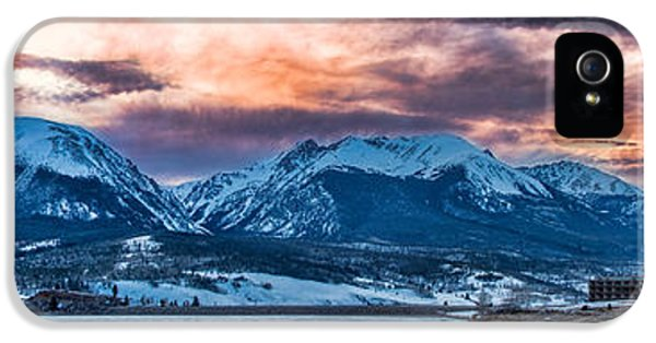 IPhone 5 Case featuring the photograph Lake Dillon by Sebastian Musial