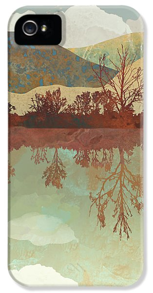 Landscapes iPhone 5 Case - Lake Side by Spacefrog Designs