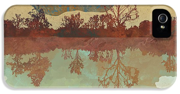 Landscape iPhone 5 Case - Lake Side by Spacefrog Designs