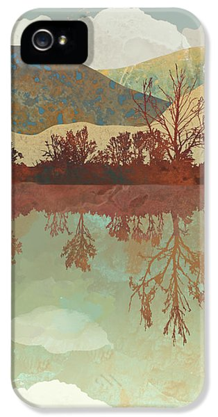 Landscapes iPhone 5 Case - Lake Side by Spacefrog Designs