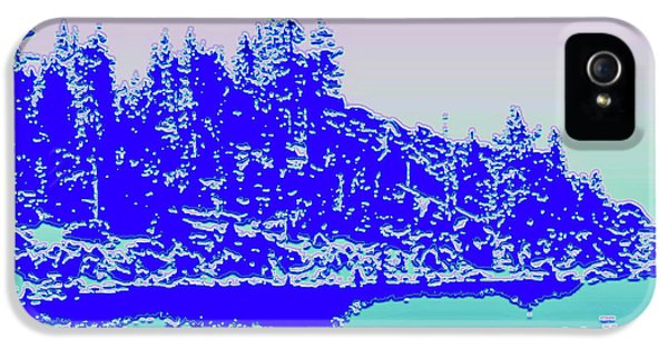 Lake Tahoe No. 17-2 IPhone 5 Case by Sandy Taylor