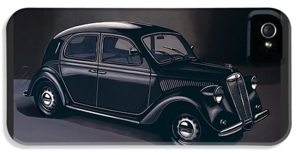 Lancia Ardea 1939 Painting IPhone 5 Case by Paul Meijering