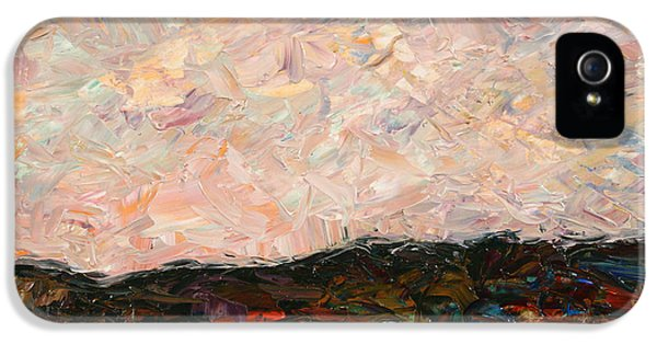 Impressionism iPhone 5 Case - Land And Sky by James W Johnson