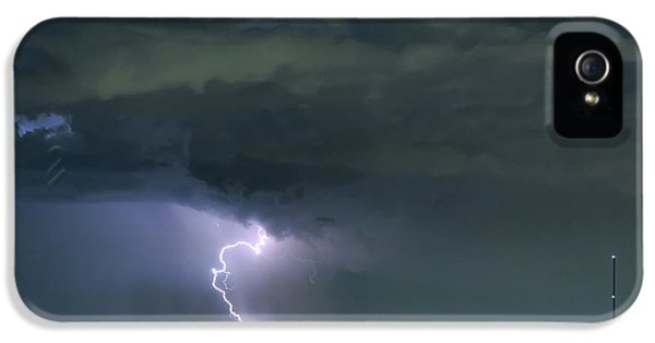 IPhone 5 Case featuring the photograph Landing In A Storm by James BO Insogna