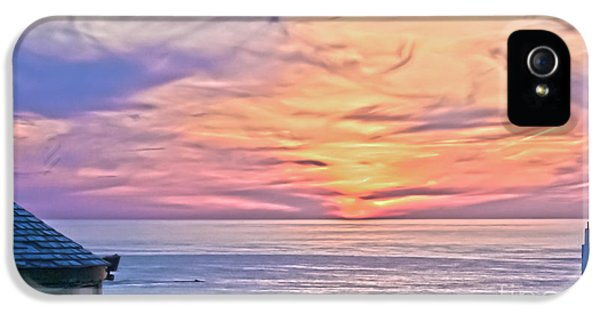 Land's End Surreal Sunset IPhone 5 Case by Terri Waters