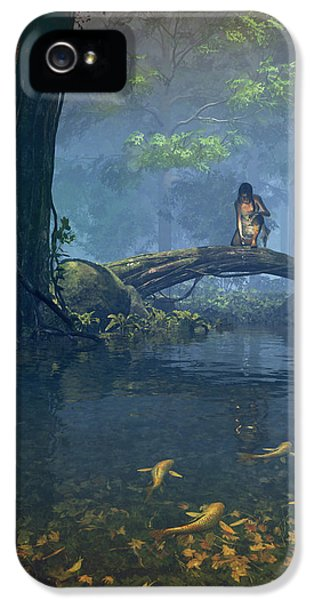 Elf iPhone 5 Case - Lantern Bearer by Cynthia Decker
