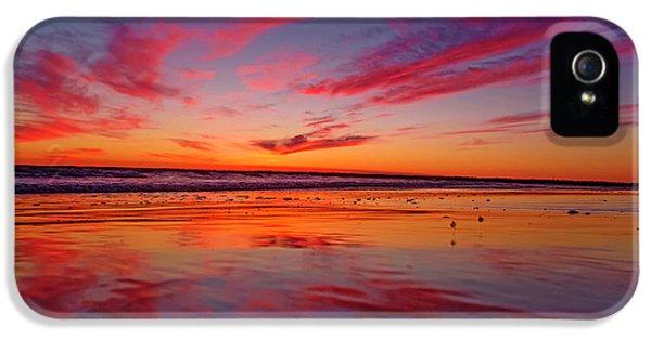 Last Light Topsail Beach IPhone 5 Case by Betsy Knapp