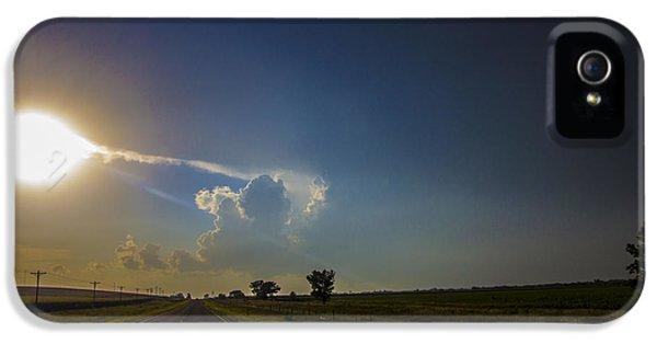 Nebraskasc iPhone 5 Case - Last Nebraska Supercell Of The Summer 009 by NebraskaSC
