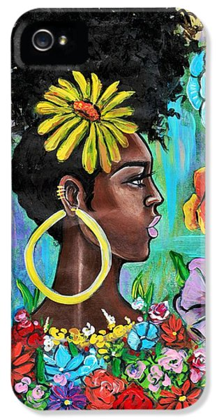 iPhone 5 Case - Late Bloomer by Artist RiA