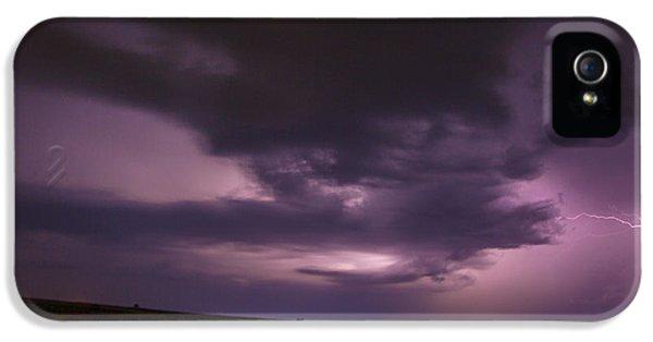 Nebraskasc iPhone 5 Case - Late July Storm Chasing 028 by NebraskaSC