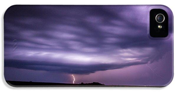 Nebraskasc iPhone 5 Case - Late July Storm Chasing 033 by NebraskaSC
