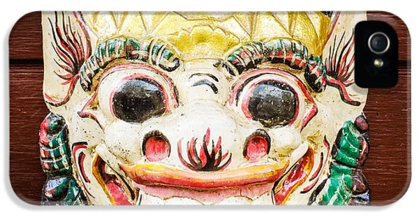 Cool iPhone 5 Case - Laughing Mask by Matthias Hauser