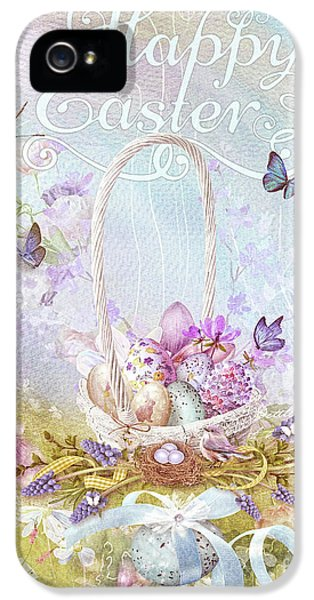 Lavender Easter IPhone 5 Case by Mo T