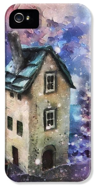 Lavender Hill IPhone 5 Case by Mo T