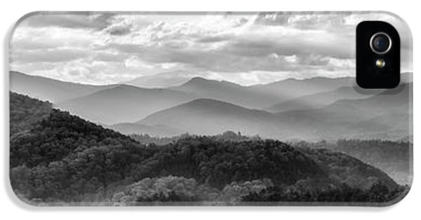 Layers In The Smokies IPhone 5 Case by Jon Glaser