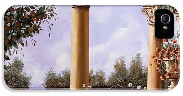 Le Arcate Chiuse Sul Lago IPhone 5 Case by Guido Borelli