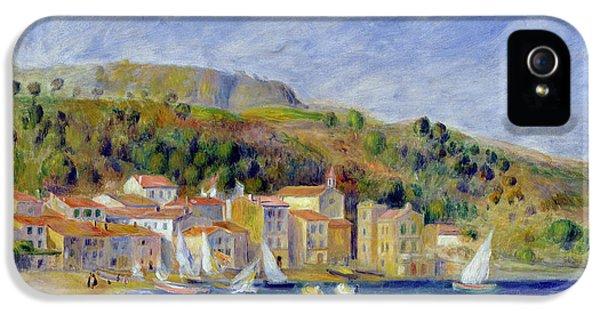 Oil House iPhone 5 Cases - Le Lavandou iPhone 5 Case by Pierre Auguste Renoir