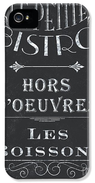 Le Petite Bistro 1 IPhone 5 Case by Debbie DeWitt