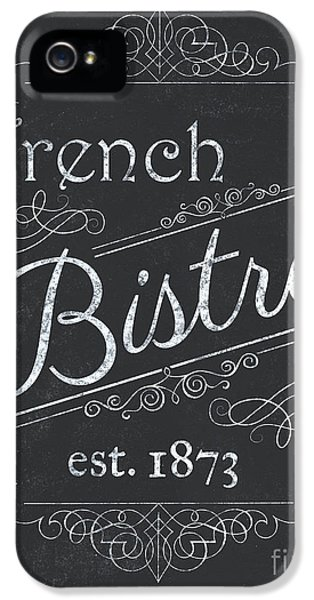 Le Petite Bistro 4 IPhone 5 Case by Debbie DeWitt