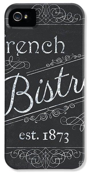 Paris iPhone 5 Case - Le Petite Bistro 4 by Debbie DeWitt