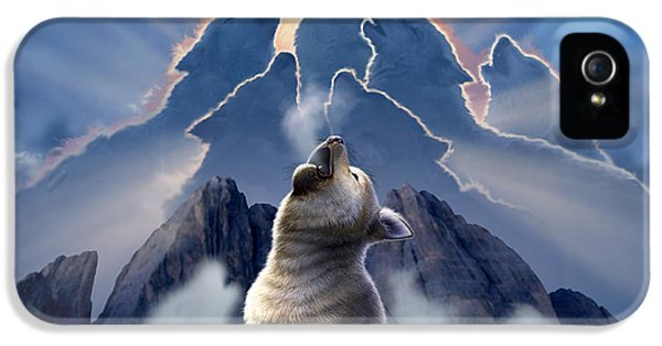 Leader Of The Pack IPhone 5 Case by Jerry LoFaro