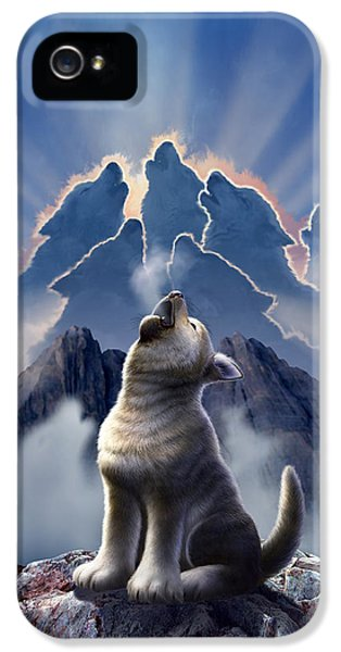 Mountain iPhone 5 Case - Leader Of The Pack by Jerry LoFaro