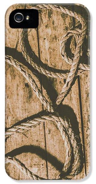 IPhone 5 Case featuring the photograph Learning The Ropes by Jorgo Photography - Wall Art Gallery