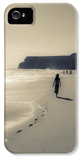 Leave Nothing But Footprints IPhone 5 Case by Alex Lapidus