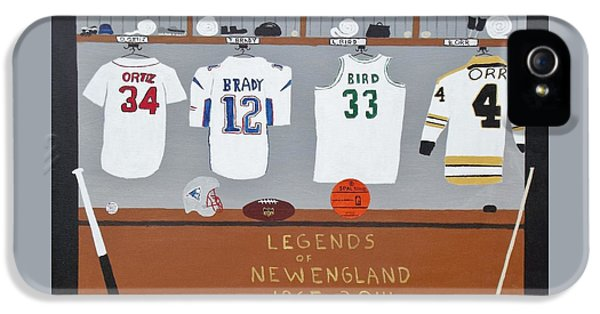 Legends Of New England IPhone 5 Case by Dennis ONeil