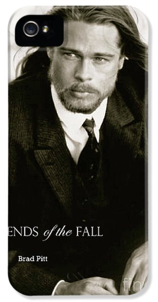 Legends Of The Fall, Brad Pitt IPhone 5 Case by Thomas Pollart