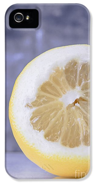 Lemon Half IPhone 5 Case by Edward Fielding