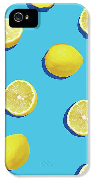 Lemon iPhone 5 Case - Lemon Pattern by Rafael Farias