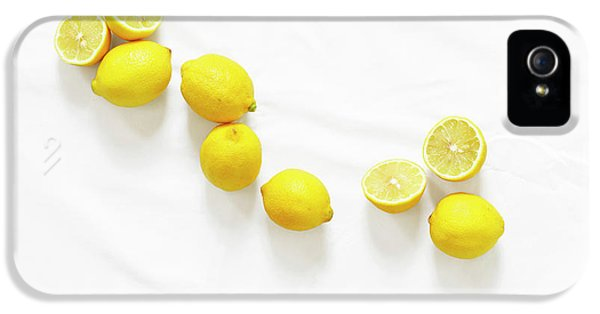 Lemons IPhone 5 Case by Lauren Mancke