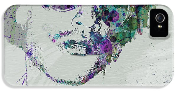 Rhythm And Blues iPhone 5 Case - Lenny Kravitz by Naxart Studio