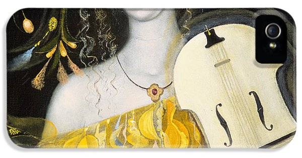 Violin iPhone 5 Case - Leo by Annael Anelia Pavlova