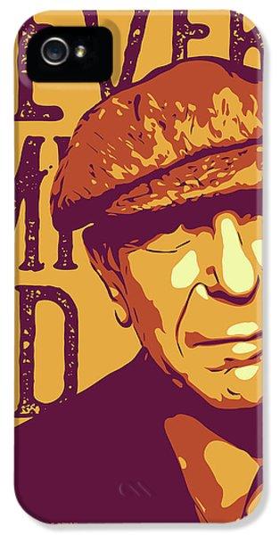 Leonard Cohen IPhone 5 Case