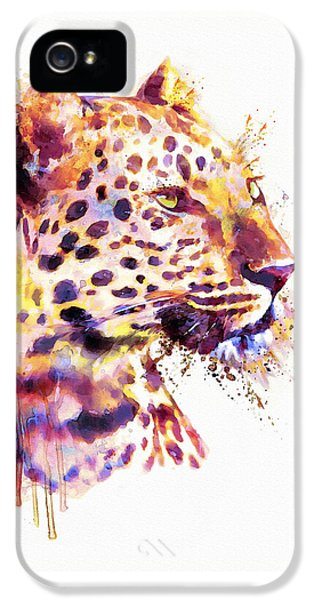 Leopard Head IPhone 5 Case