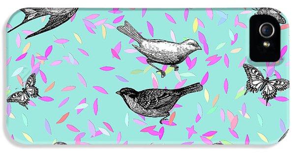 Let It Fly IPhone 5 Case by Gloria Sanchez