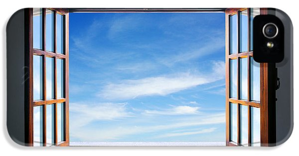 Blank iPhone 5 Cases - Let the blue sky in iPhone 5 Case by Carlos Caetano