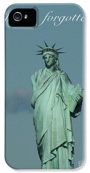 Breathe iPhone 5 Case - Liberty Forgotten by Al Bourassa