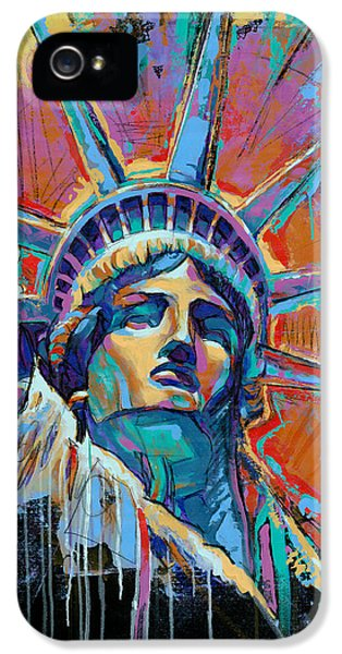 Liberty In Color IPhone 5 Case by Damon Gray
