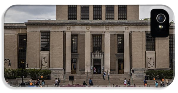 Library At Penn State University  IPhone 5 Case by John McGraw