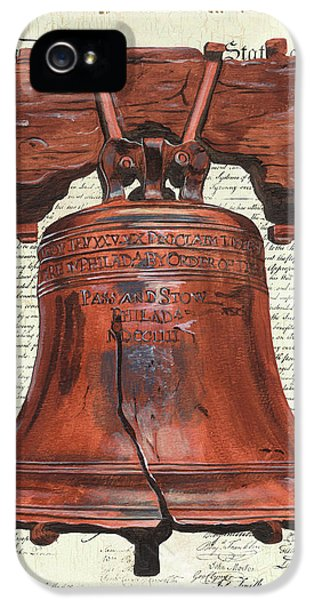 Philadelphia iPhone 5 Case - Life And Liberty by Debbie DeWitt